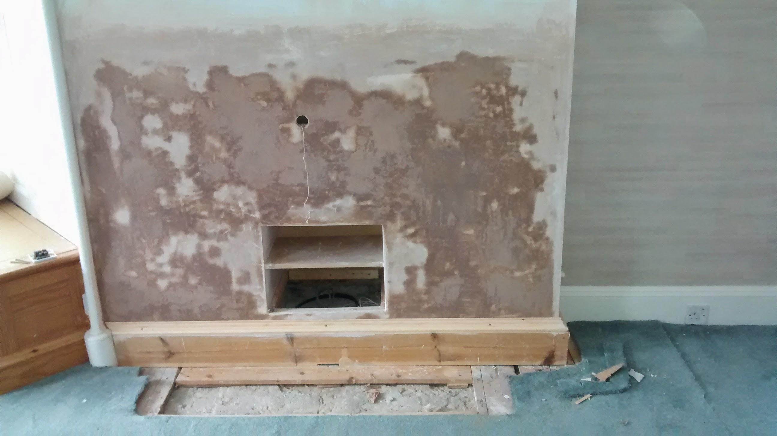 fireplace removal handy david