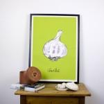 Garlic Giclee Print