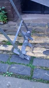 AL5 Ramsey Ladder -hinge detail