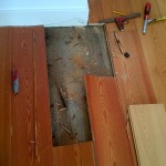 Removed Floorboards