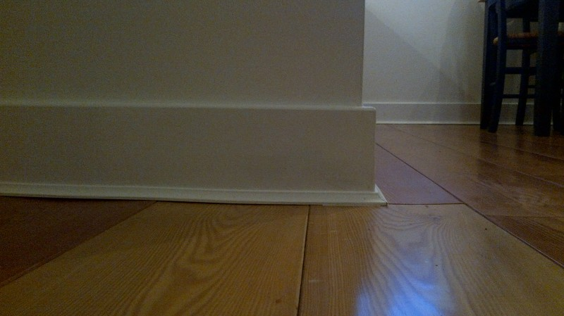 Painted Skirting Board