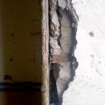 Wooden corner beading