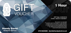 Handy David Edinburgh Handyman Gift Voucher