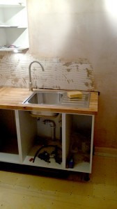 Ikea kitchen sink Installation