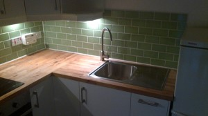 ikea kitchen with under counter lights