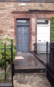 Front Door Undercoated