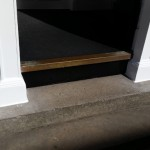 Repaired Front Door Mouldings