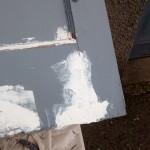 Repair to rotten corner