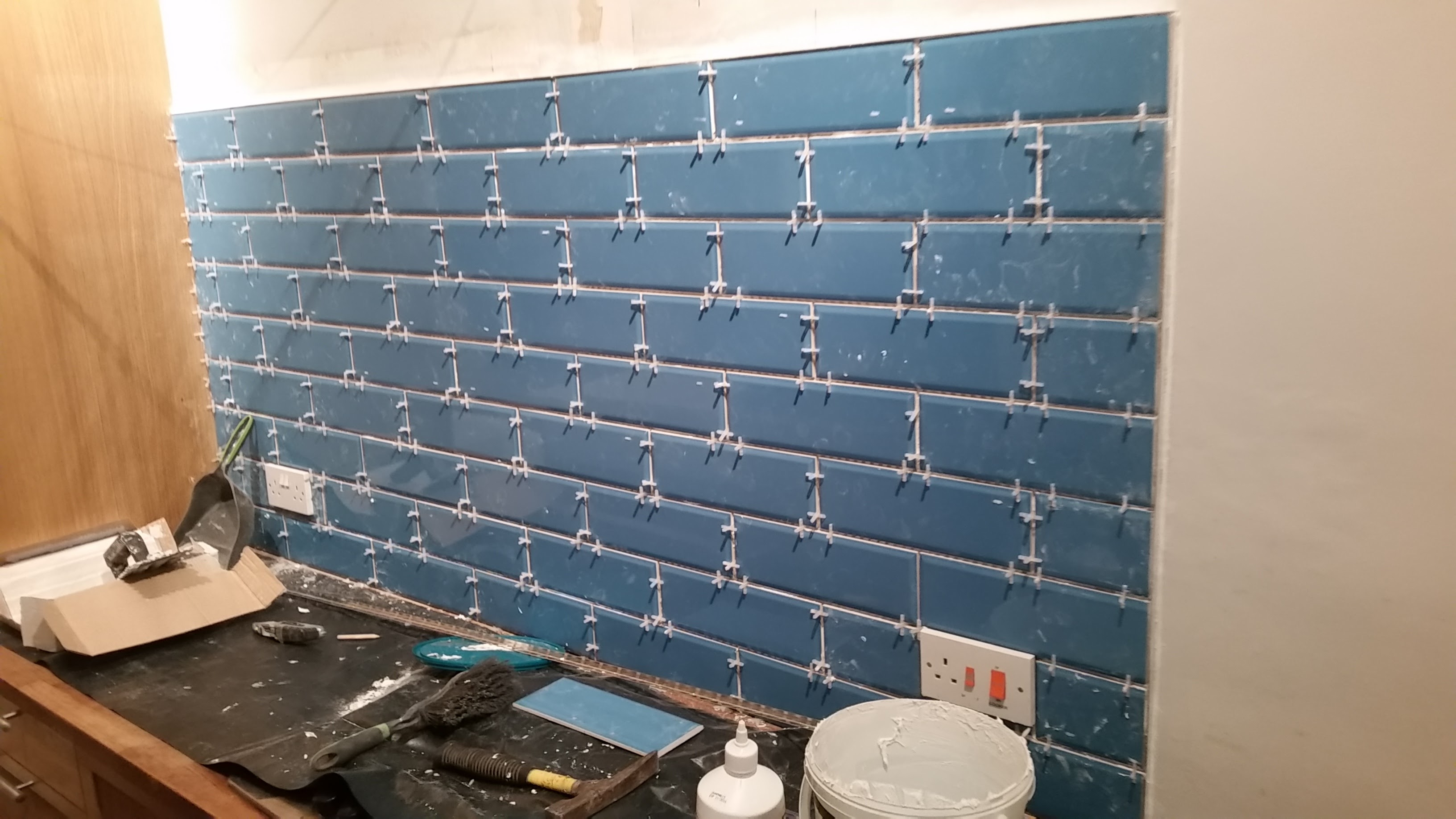 Kitchen Tile Splashback | Handy David