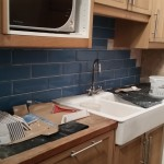 Tile Splashback under counter