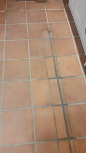 Floor tiling repair